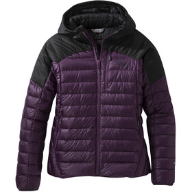 Outdoor Research Helium Chaqueta Plumas Mujer, blackberry/black